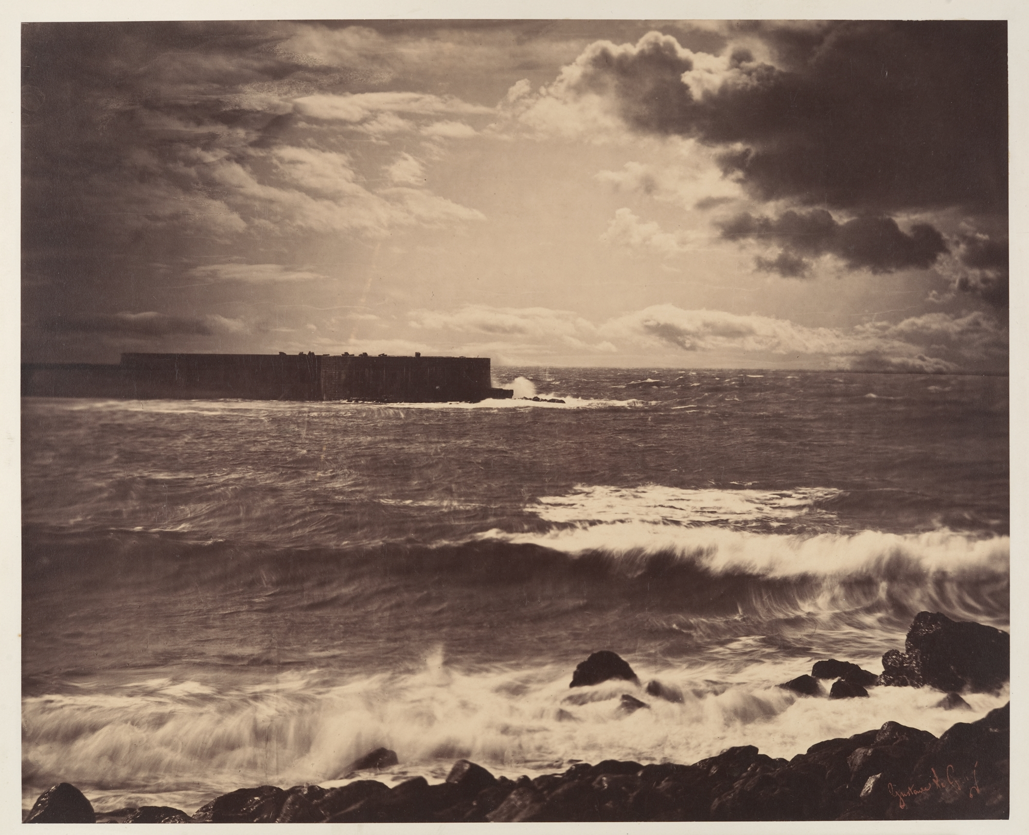Gustave Le Gray - The Great Wave (1857)